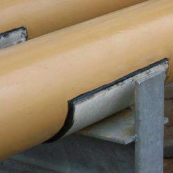 FibaWearPads reinforced GRP glass fiber